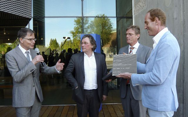 Uitreiking plaquette Optimalisatie Nederlands Architectuurinstituut